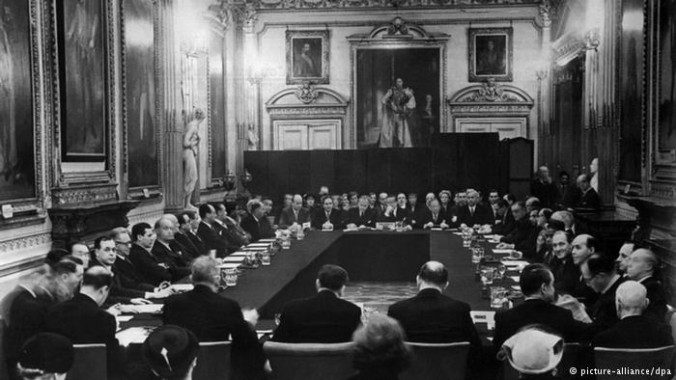 The conference leading to the London Debt Agreement of 1953