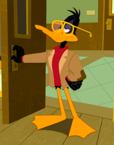 daffy professor