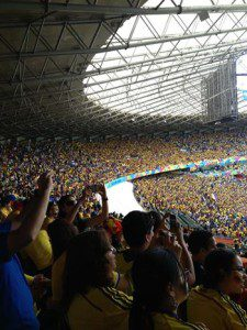 "Colombia vs. Greece World Cup 2014 -  ""A Colombian Home Game"""