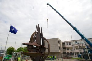 NATO symbol moving